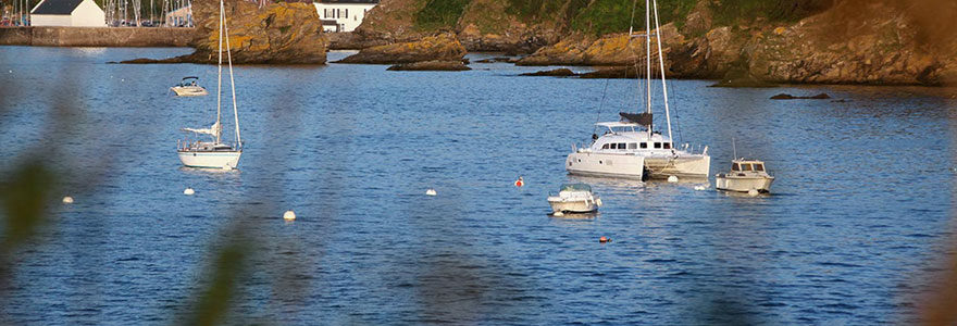 croisière dans le Finistère